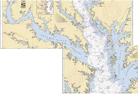 Upper Chesapeake Bay Chart Chesapeake Bay Chart