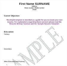 Resume Writing Template Classy Format Resume Pdf 48 Page Example Sample With Two Pages Us Army Topic