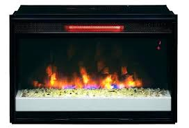 infrared fireplace heater white electric insert costco