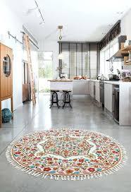 2 foot round rugs furniture blue ridge half round wool braided rug 2 x 4 braided