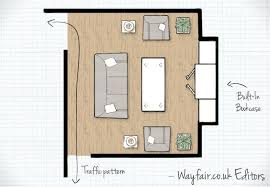 Living Room Layout Simple Decorating
