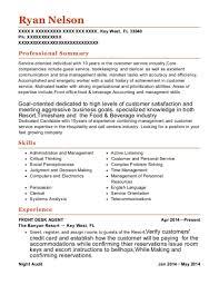 front desk agent resume sample best front desk agent resumes resumehelp