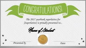 Congratulations Certificates Templates We Made A Free Superlative Certificate Template And How You