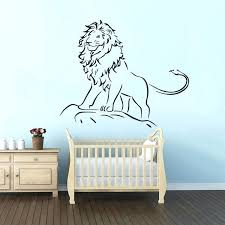 lion king wall decals lion king wall decal kids boys room decor lion king of the lion king wall decals