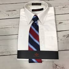 Dockers Long Sleeve Shirt With Tie Size 5 Nwt