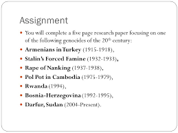 filling the gap genocide driving questions why is it important to 20 assignment