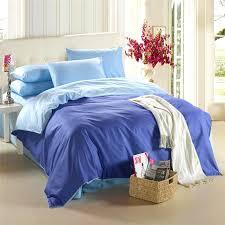 royal blue bedding set king size queen quilt doona duvet cover designer double bed sheet bedsheet bedspread linen solid color 100 cotton bedding supplies