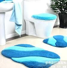 blue bathroom rug set marvelous sets pink accessories light cozy ideas rugs rose navy blue bathroom rug