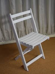 our white folding chair is the same chair as the wooden option but painted white please note these are not plastic these compliment the whitewashed