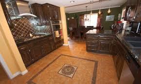 Kitchen Flooring Tile Kitchen Small White Kitchen Tile Floor Ideas Kitchen Tile Floor