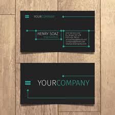 tech business card tech business card design vector free download