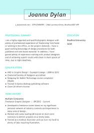 Short Cv Templates Cv Templates Myperfectcv