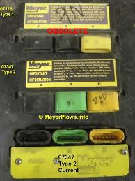 meyerplows info meyer headlight changeover module information meyer plow headlight modules 07116