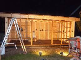 build a garden office. Garden Office Build In Progress By The Escape (8).jpg A R
