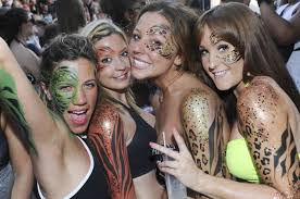 calling all party animals let loose at zoo themed superclub in ibiza daily star
