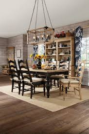 Pine Dining Room Chairs Kincaid Homecoming Solid Leg Wood Farmhouse Dining Table Set In