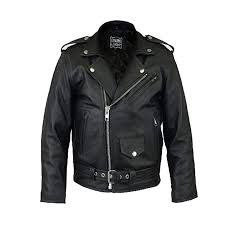 real leather kids genuine leather 100 leather biker jacket with zip fastenings ages 3 to
