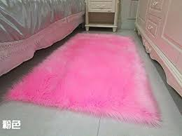 huahoo faux fur sheepskin rug pink kids and 50 similar items 51v6rokwg 2bl sl1500