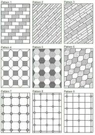 floor tile pattern designs. floor tile patterns would make good quilt pattern designs t