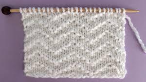 Convert Picture To Knitting Chart Chevron Seed Stitch Knitting Pattern Studio Knit