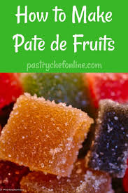 Pate De Fruits What They Are And How To Make Them