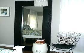 white leaning floor mirror. Ikea Full Length Floor Mirror Mirrors Black With White Drapery Leaning .