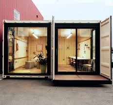 office in container. SF Startup Is Turning Vacant Lots Into Office Spaces With Shipping Containers - SFGate In Container
