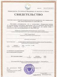 Консалтинговая аудиторская компания аудиторские услуги  Свидетельство о государственной регистрации