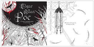 edgar allan poe an coloring book