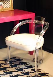 acrylic office chairs. Image Of: Design Acrylic Desk Chair Office Chairs
