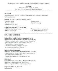 Law Clerk Cover Letter Examples Medical Billing Resume Medical