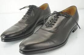 gucci dress shoes. gucci hylands mens plain toe oxfords size 10 black lace up leather shoes $695 dress