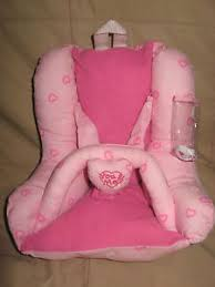 YOU & ME Pink Cloth BABY DOLL CARRIER Car Seat BACKPACK 10
