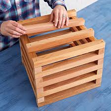 add the bottom slats to the planter
