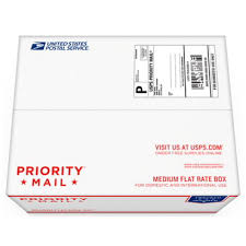 Priority Mail Forever Prepaid Flat Rate Medium Box 1