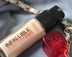 loreal paris 24h infallible reno liquid foundation review swatches demo