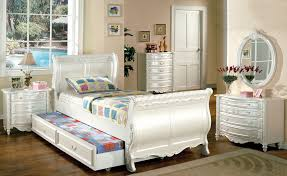 finish modern stylish bedroom set alexandra bedroom set in white finish larger image