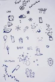 Simple Stick And Poke Designs Stick And Poke Ideas Tumblr