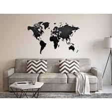 Zeer Wereldkaart Op De Muur At Efs99 Agneswamu