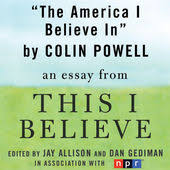 The America I Believe In A This I Believe Essay Unabridged By