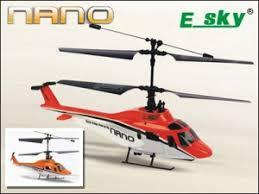 <b>Радиоуправляемый вертолет E</b>-<b>SKY</b> Nano RTF - 002843