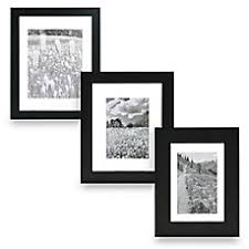 black picture frames wall. Real Simple® Black Wood Float Wall Frames Picture