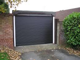 compact garage doors warm protection compact electric garage door in anthracite grey craftsman garage door opener