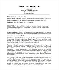 Veteran Resume Template Best Federal Resume Templates Free Federal Resume Template 100 Free 69