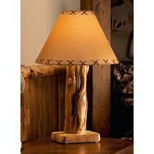 rustic table lamps aspen log table lamp rustic table lamps australia