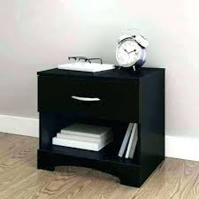 Night Stands Black Dressers And Nightstands Bedroom Furniture The Home Depot  Step One 1 Drawer Nightstand In Pure Modern