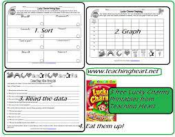 Free Lucky Charms Sort Graph Data - Teaching Heart Blog Teaching ...