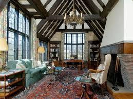 english tudor living room tudor style house homes fireplace