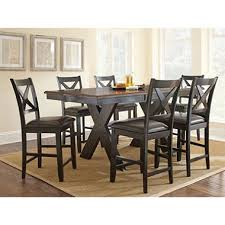 dining room table height. victor counter-height 7-piece dining set room table height