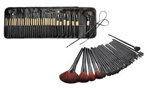 zoë ayla cosmetics 32 piece makeup brush sets